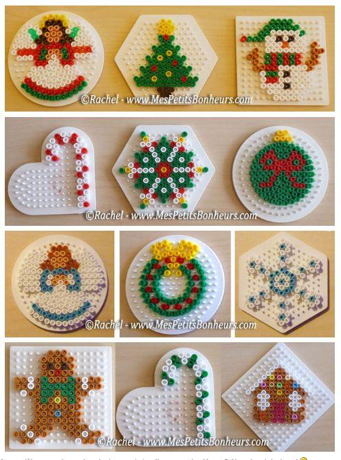 Perler - Jule mønstre