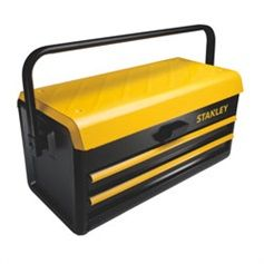 Stanley Tools - 19 in Metal Toolbox with 2 Drawers - STST19502