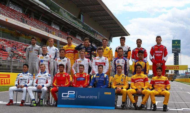 2016 GP2 racing drivers.  Class of 2016