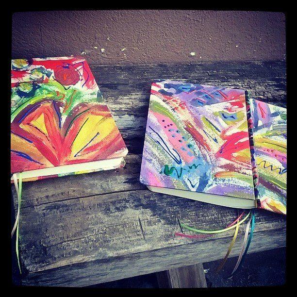 BUENOS DIAS!*:.  dimeTuENCUADERNACIONES & mechaFALKE  #theoriyinals  #cosidosypintadosamano  100% artesanal