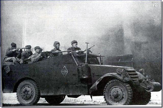 Image result for soviet APCs ww2