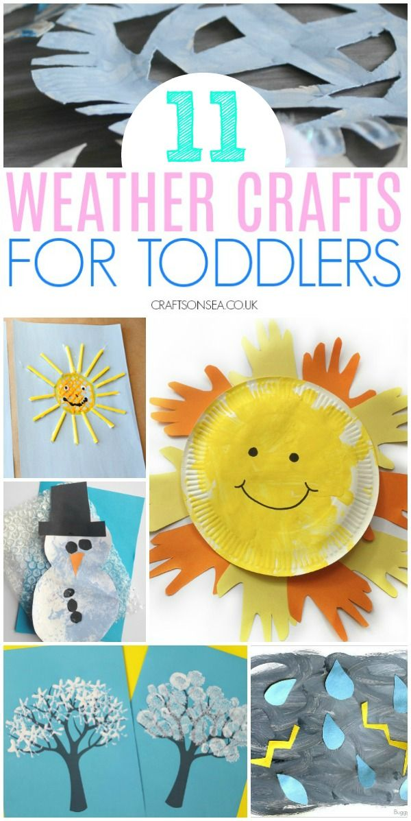 11 Easy And Fun Weather Crafts For Toddlers Crafts For Toddlers