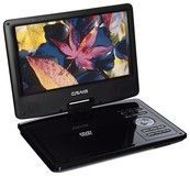 "Craig - 9"" TFT Portable DVD Player with Swivel Screen - Black"