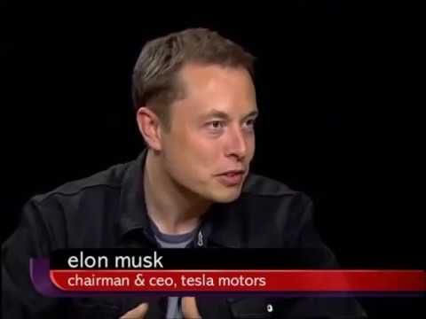 Elon Musk Full interview with Charlie Rose.