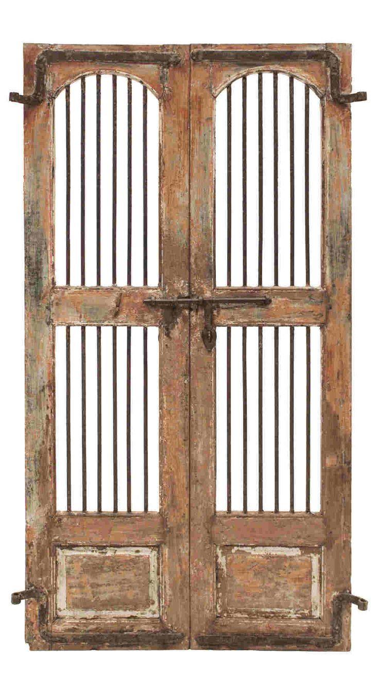 AC-261 - Conely | Puertas de madera, metal y forja, rústicas, artesanales. Decoración.