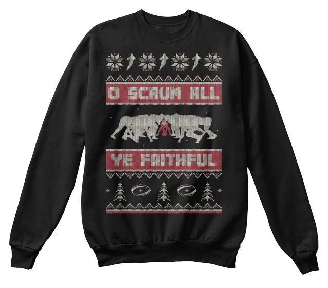 Ugly Rugby Christmas Sweater!