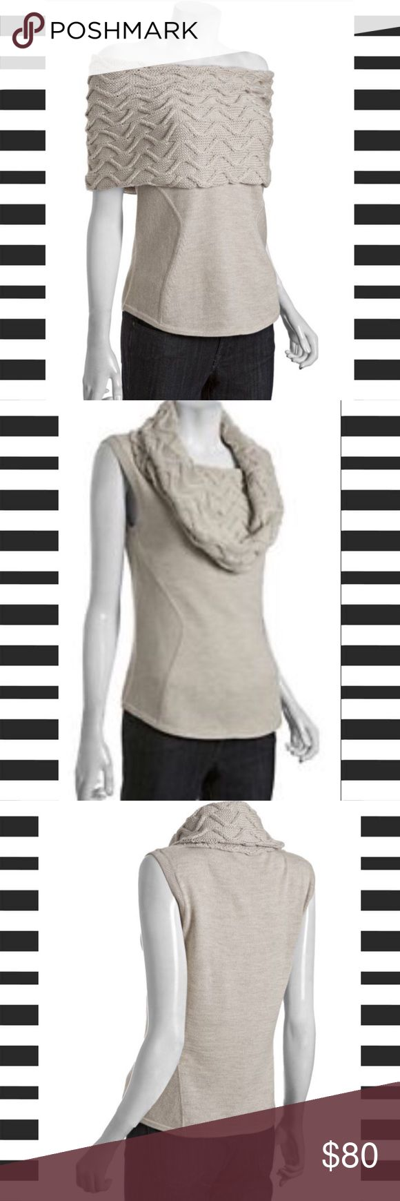 Women's Wool Roni Sleeveless Cowl Neck Sweater This is a great fall sweater.  Women's Wool Roni Sleeveless Cowl Neck Sweater.  NWT!  Get a jumpstart on building your fall wardrobe. 301-01 Elie Tahari Sweaters
