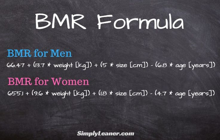 How To Use Your BMR To Lose Weight