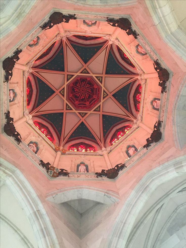 Church Ceiling at Mount Stuart House, Rothesay, Isle of Bute