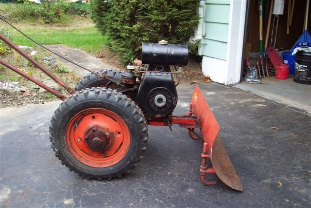Farm Tractor 2 Wheel : Best images about vintage tillers mowers misc on