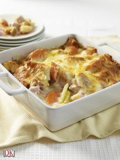 This Farmers' Bacon Bake is one of our top 15 Mary Berry recipes for winter and a tasty treat for the whole family. Check out the list here: http://www.dk.com/uk/explore/food-drink/15-winter-dishes-to-warm-you-up-this-winter/