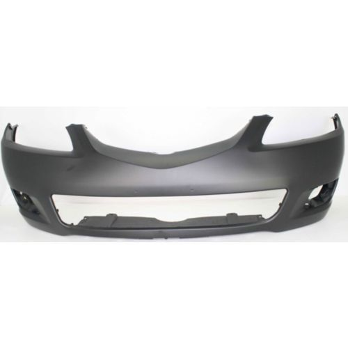 2006-2008 Mazda 6 Front Bumper Cover, Primed, With Out Turbo - Capa