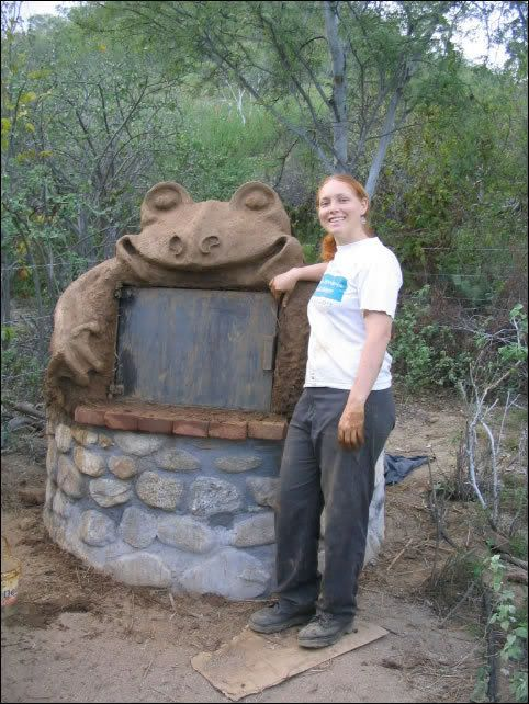 because who *doesn't* want a FROG oven?! ...more creative oven ideas on the site.