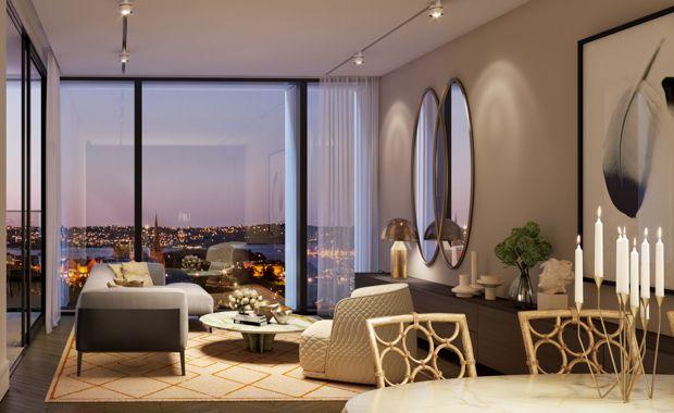 ONE - living room night_620x380