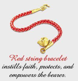 Red string bracelet meaning