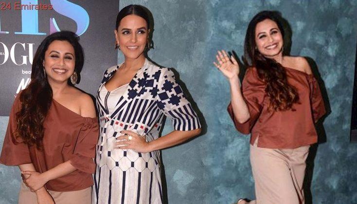 Rani Mukerji, Sabyasachi And Neha Dhupia on Vogue BFFs