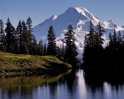 Mt Baker, Washington    I spent a lot of time on this mountain hiking with my family  and skiing.  I was blessed to see the sunrise over Mt Baker on clear mornings for 35 years of my life while I lived in Lynden.