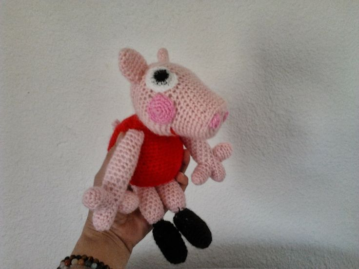 Pig Rabbit Amigurumi Patron : 128 best ideas about Beppa pig on Pinterest Patrones ...