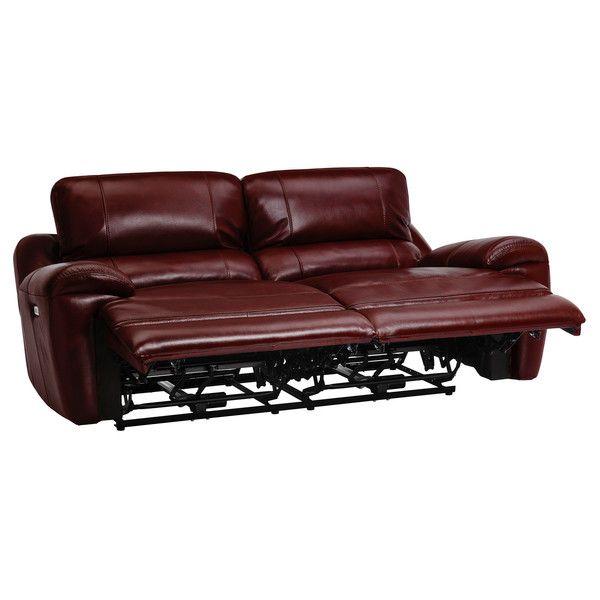 Outstanding Burgundy Leather Sofas 3 Seater Electric Recliner Sofa Inzonedesignstudio Interior Chair Design Inzonedesignstudiocom