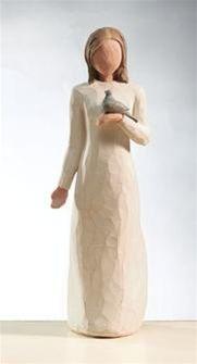 Mamma Christa only ;] willow tree figurines... net vir ingeval ek nie hard genoeg al vir haar geskimp het nie...sy is perfek om my versameling te voltooi