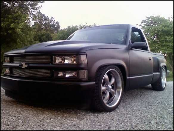 """stepside silverado hot rod 