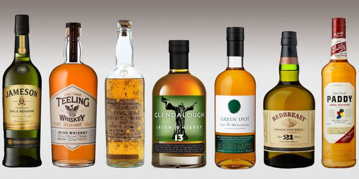 11 Best Irish Whiskey Brands of 2016 - Types of Whiskey We Love
