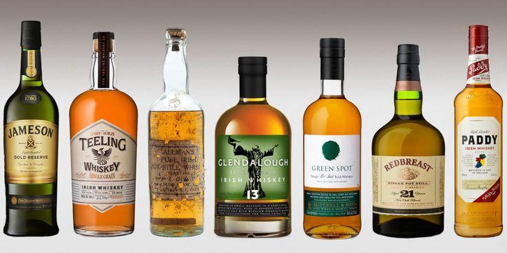 11 Best Irish Whiskey Brands of 2016 - Types of Whiskey We Love
