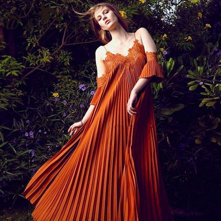 Высокое качество 2016 летний новый взлетно-посадочной полосы платье женщины V-образным Вырезом без рукавов сексуальная плиссированные платья D0329