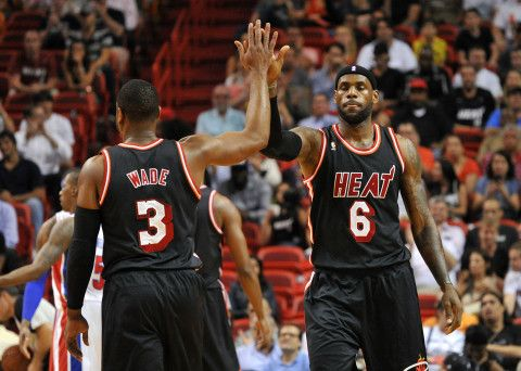 Dwyane Wade, LeBron James questioned teaming up at first