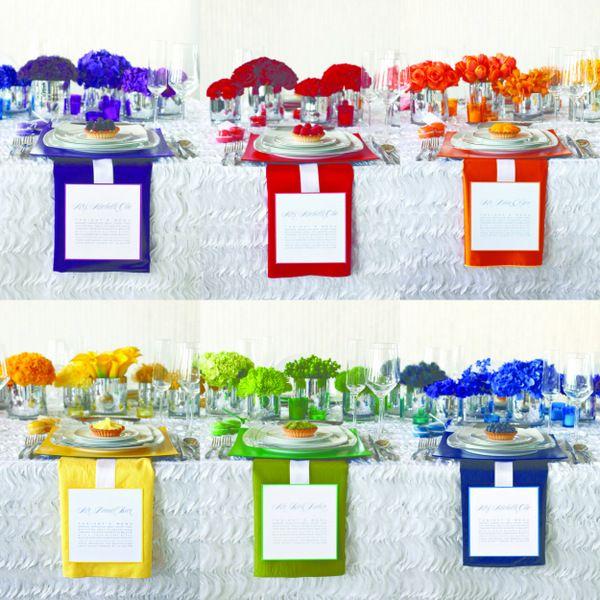 Colorful Wedding Decoration Ideas: Best 25+ Rainbow Wedding Centerpieces Ideas On Pinterest