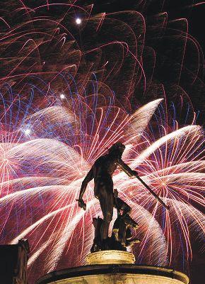Gdańsk, New Year's Eve