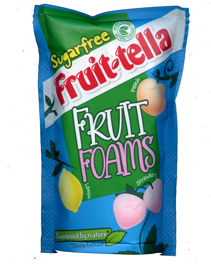 Fruittella Sugar Free Fruit Foams Pouch