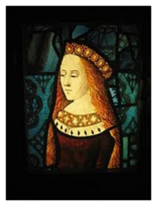 "Lady Cecily of York, daughter of Edward IV and Elizabeth Woodville, sister of the ""little princes"" and Elizabeth of York, wife of Henry VII"