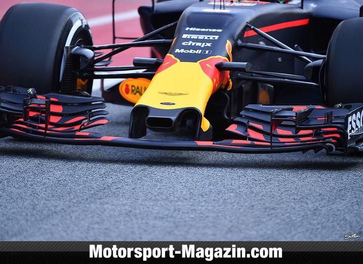 Formel 1 2017, Testfahrten, Barcelona I, Barcelona, Daniel Ricciardo, Red Bull, Bild: Sutton