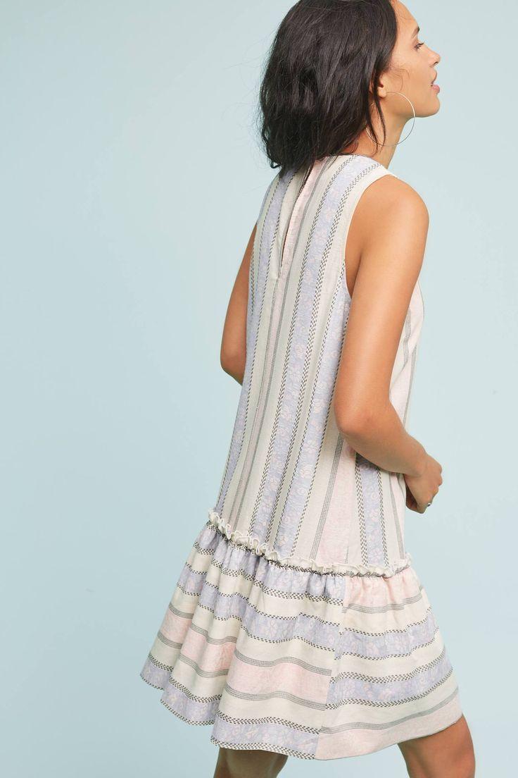 Slide View: 3: Devon Drop-Waist Dress