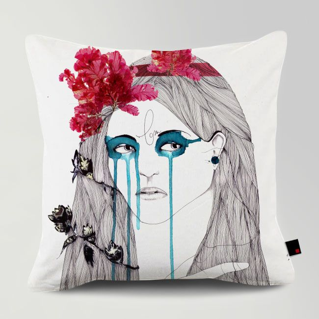 PAINTED EYES / Designed by Rui Ribeiro / Made by OneRevolt.com / #쿠션 #원리볼트 #인테리어 #홈데코 #painted #eyes #design #cushion