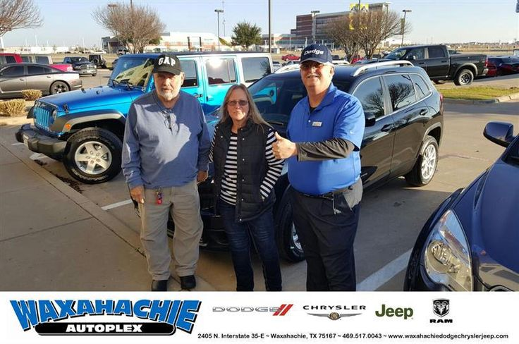 https://flic.kr/p/QddMKk | Happy Anniversary to Carrie on your #Jeep #Cherokee from Mike White at Waxahachie Dodge Chrysler Jeep! | deliverymaxx.com/DealerReviews.aspx?DealerCode=F068