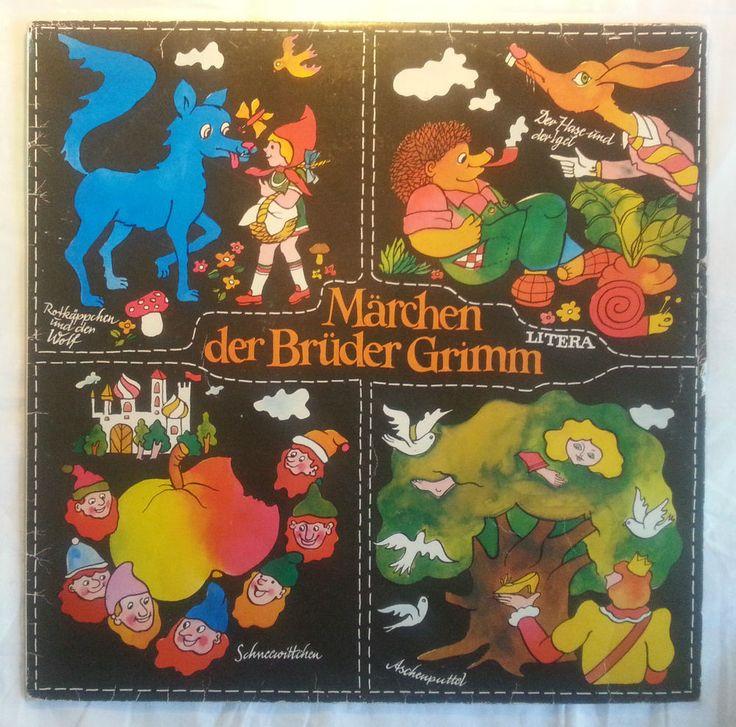 "Märchen der Brüder Grimm - 4 Stück- 12"" Vinyl Schallplatte Litera DDR in Musik, Vinyl, Special Interest | eBay"