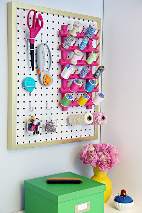 The Easiest Pegboard Project Ever! - IHeart Organizing