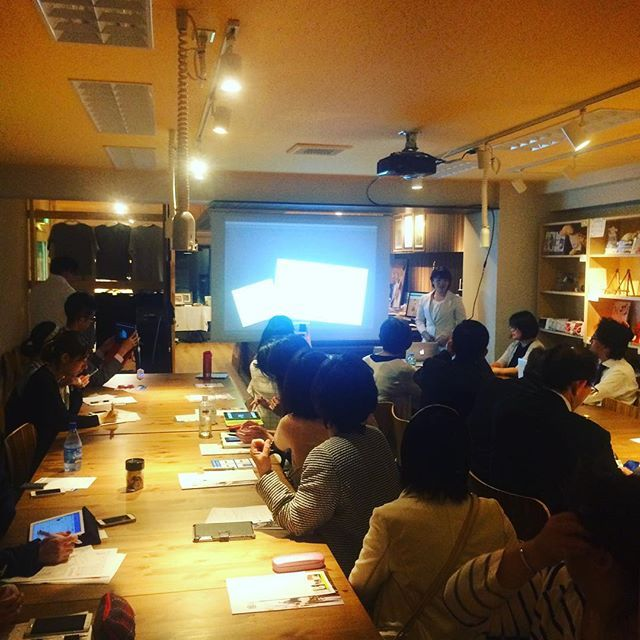 Pinを追加しました!/Friday Night、最後の方はcotohanaのフリーライター、樋口亜沙美さんです。ライターとしての仕事のお話、文章のコツなどについてお話いただきました #fridaynight