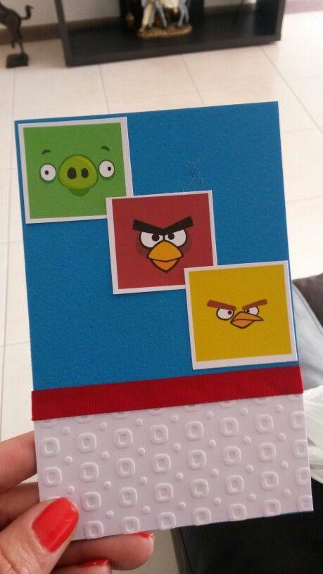 Scrap cumpleaños angry birds