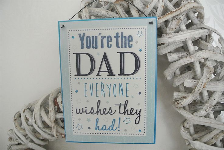 You're The Dad Plaque/Sign