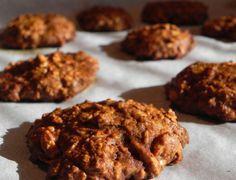 Recepty na hubnutí - Vločkové celozrnné sušenky – placičky