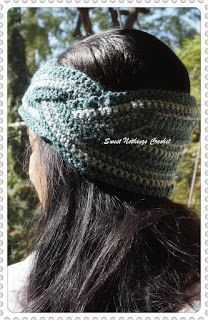 Sweet Nothings Crochet: BRAIDED CROCHET HEADBAND