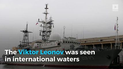 Russian Spy Ship Spotted Off North Carolina Coast | موفيز هوم  Russian Spy Ship Spotted Off North Carolina Coast The Viktor Leonov was seen in international waters about 100 miles off the North Carolina coast. According to CNN military officials said the ship is being tracked by the United States. While the ship's course is unknown... it was previously seen in Florida and Connecticut.