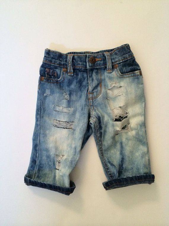 Laguna Jeans Baby Capris Baby Jeans Baby Shorts por CurlyQsCounter