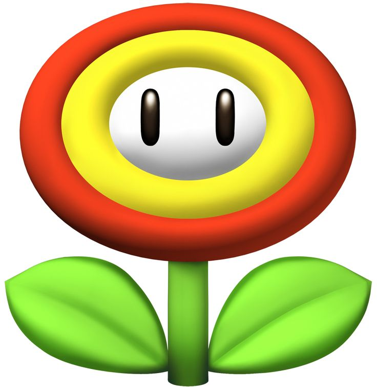 mario flower - Google Search