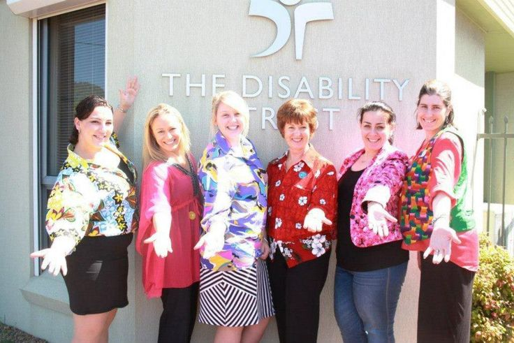 The ladies getting into the Loud Shirt Day spirit!  http://www.loudshirtday.com.au/