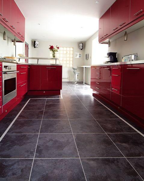 """do kuchyne sa hodí aj napríklad aj takýto """"kameň"""". www.dizajnovepodlahy.sk"""