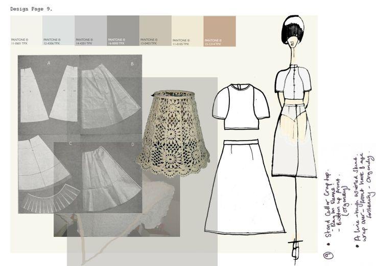 Fashion Sketchbook - fashion sketches; fashion design development; fashion portfolio // Emilie Hale